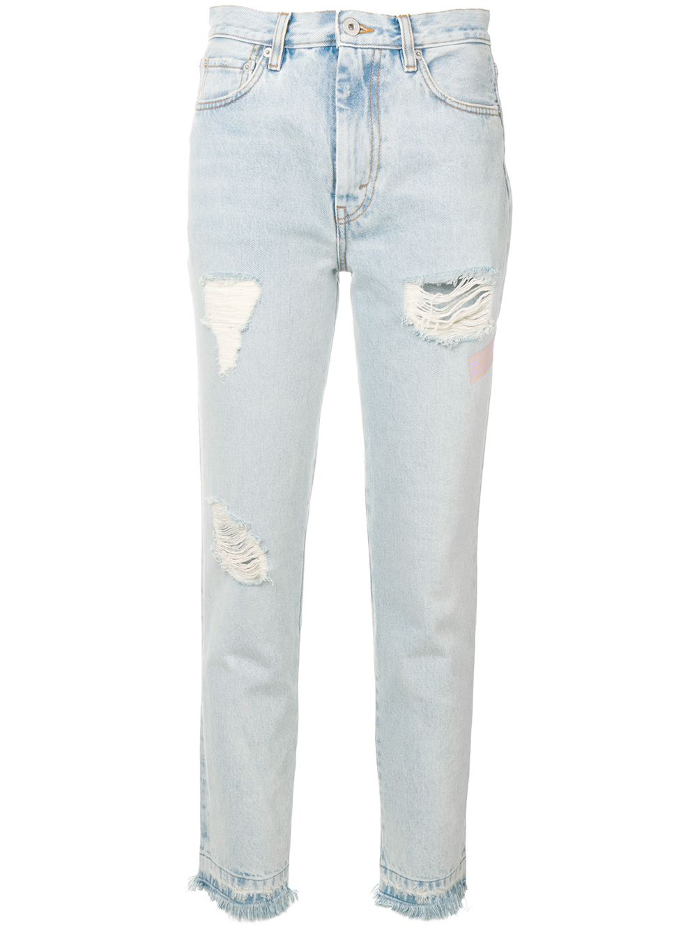 be97045d1 Heron Preston Jeans In Distressed-Optik - Blau In Blue | ModeSens