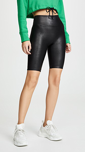 9273a879dd Spanx Faux Leather Bike Shorts In Black