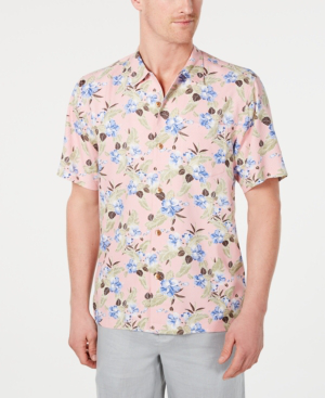 7b874c2c58 Tommy Bahama Men's Floral Pacific Paradise Hawaiian Shirt, Created For  Macy's ...