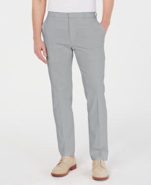 14ae9ab838829c Tommy Hilfiger Men's Modern-Fit Th Flex Stretch Comfort Solid Dress Pants  In Medium Blue