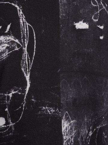 6d367bdf53 Jersey With John Deakin Print in Black