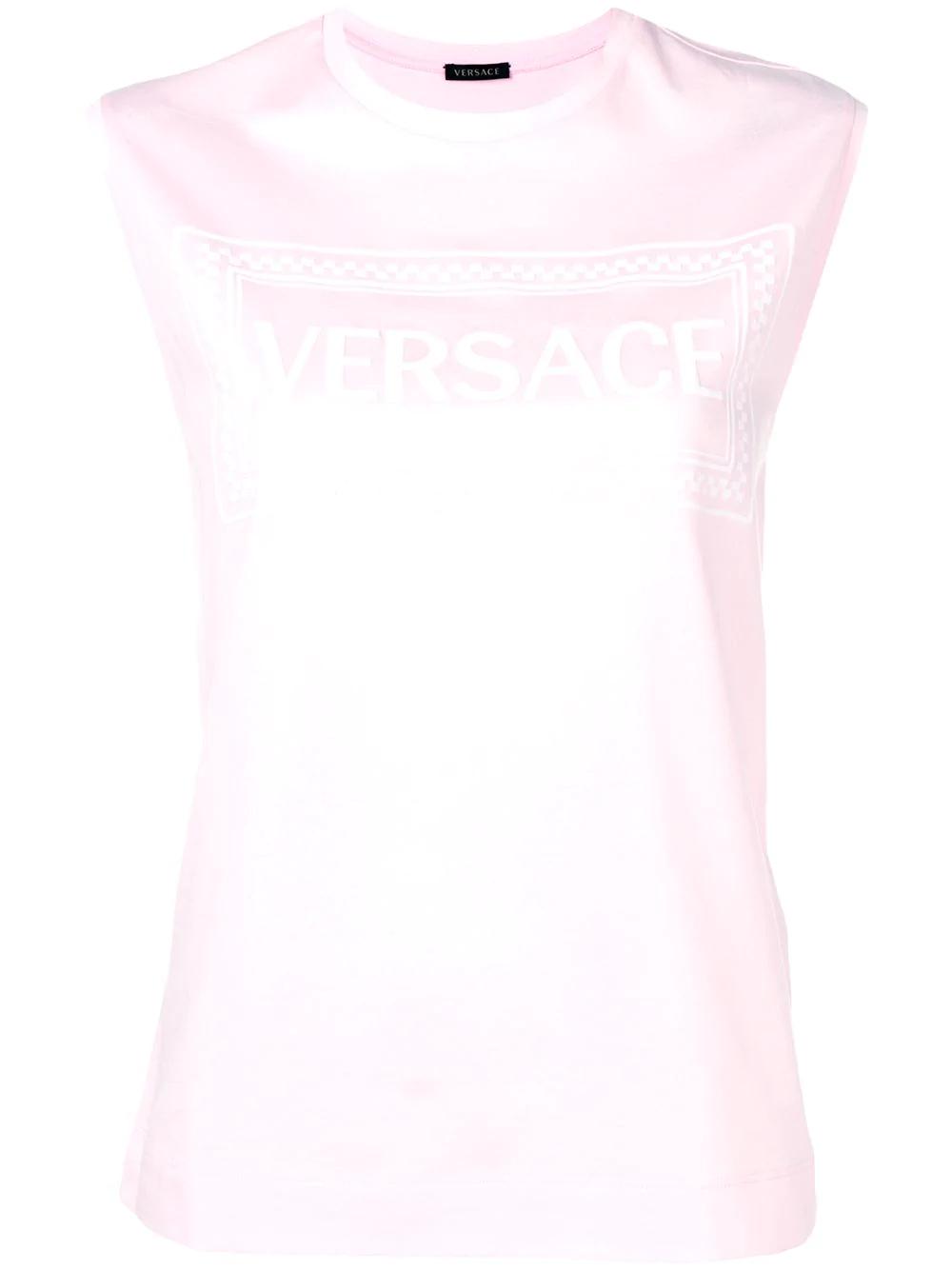 bcad4ff9 Versace 90S Vintage Logo T-Shirt - Pink | ModeSens
