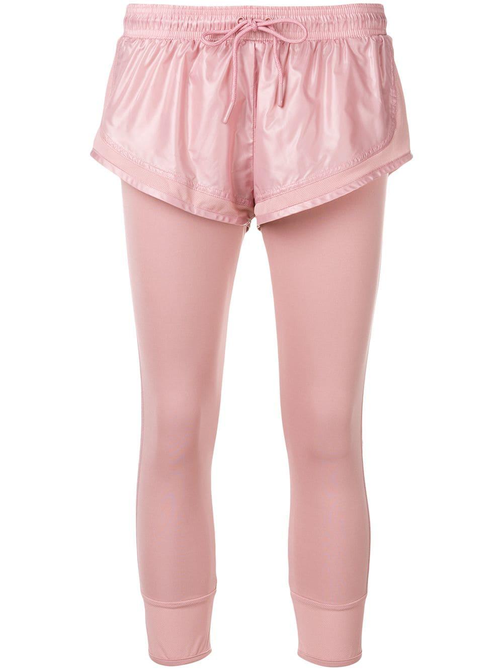 08fc3606c2b Adidas By Stella Mccartney Performance Essentials Leggings - Pink ...