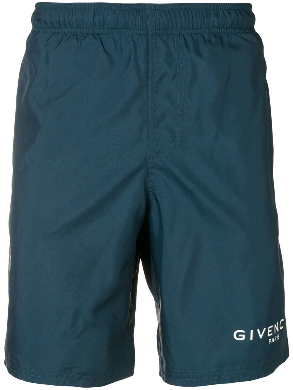 aab15a5fee0296 Givenchy Logo Swim Shorts - Blue