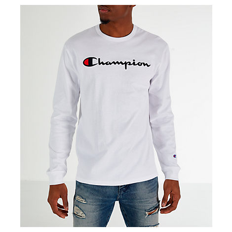Champion Mens Heritage Long Sleeve T-Shirt T-Shirt