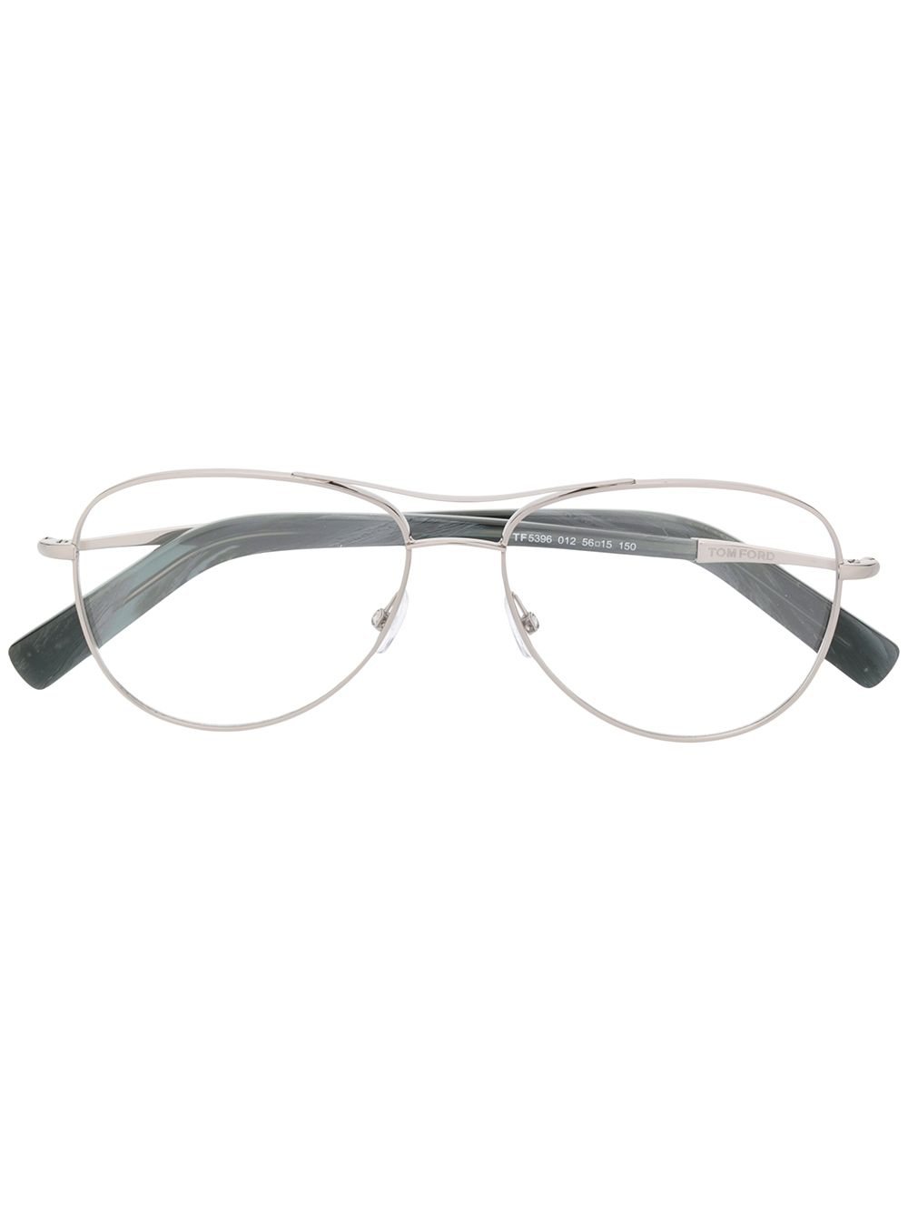 6448622d16 Tom Ford Eyewear Aviator Glasses - Silver