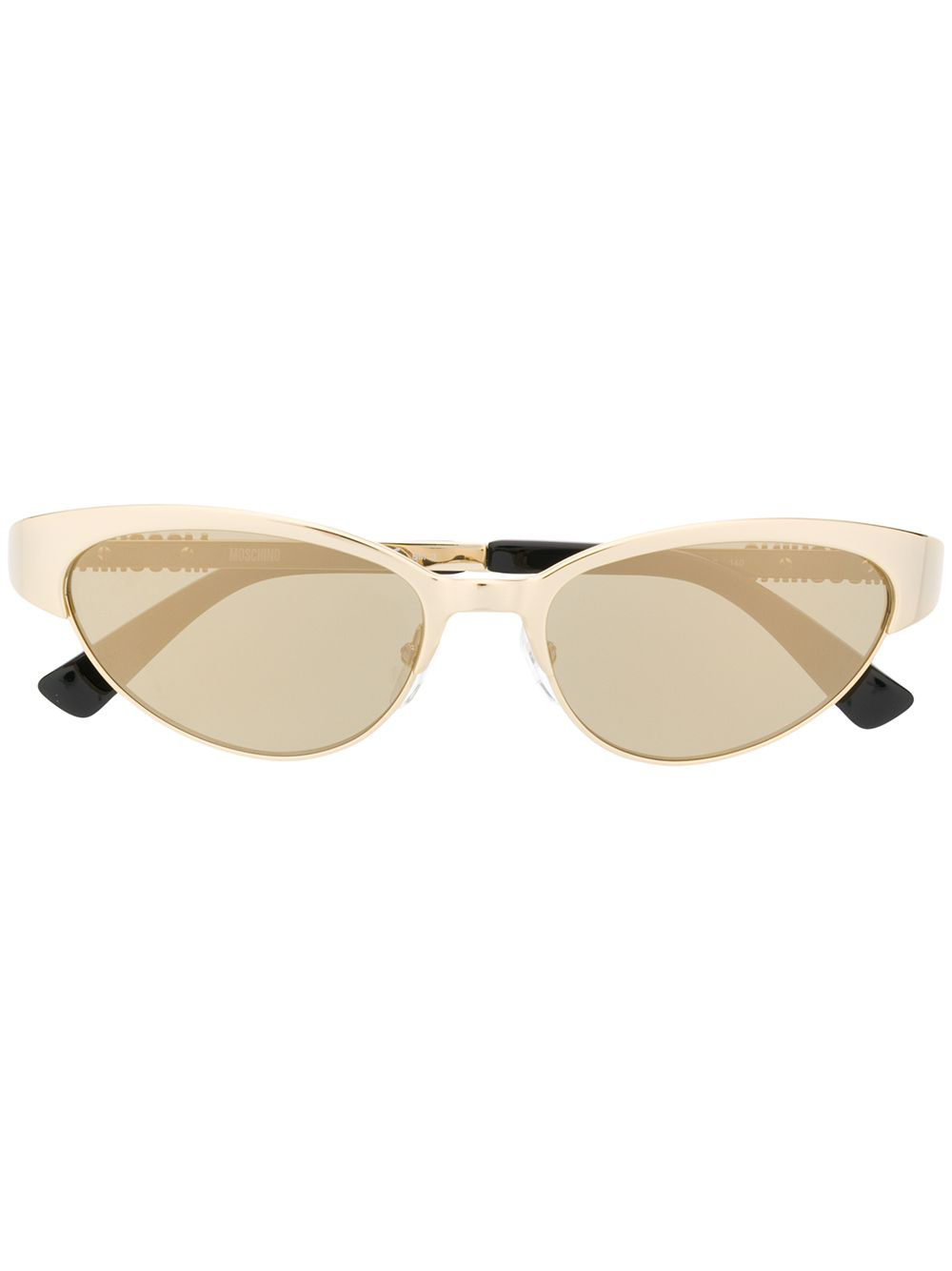 873ef944c793 Moschino Eyewear Cat Eye Sunglasses - Gold | ModeSens