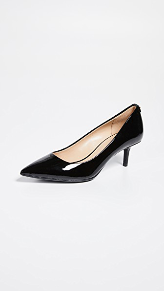 015e34e5ec6 Michael Michael Kors Mk Flex Kitten Heel Pumps In Black