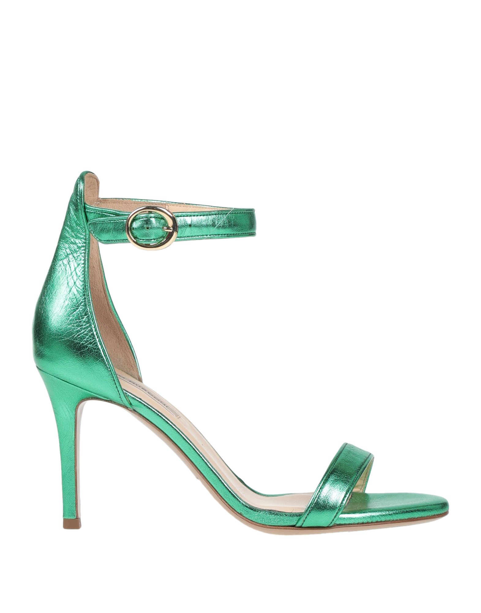 e7a344cef20c Fabio Rusconi Sandals In Emerald Green