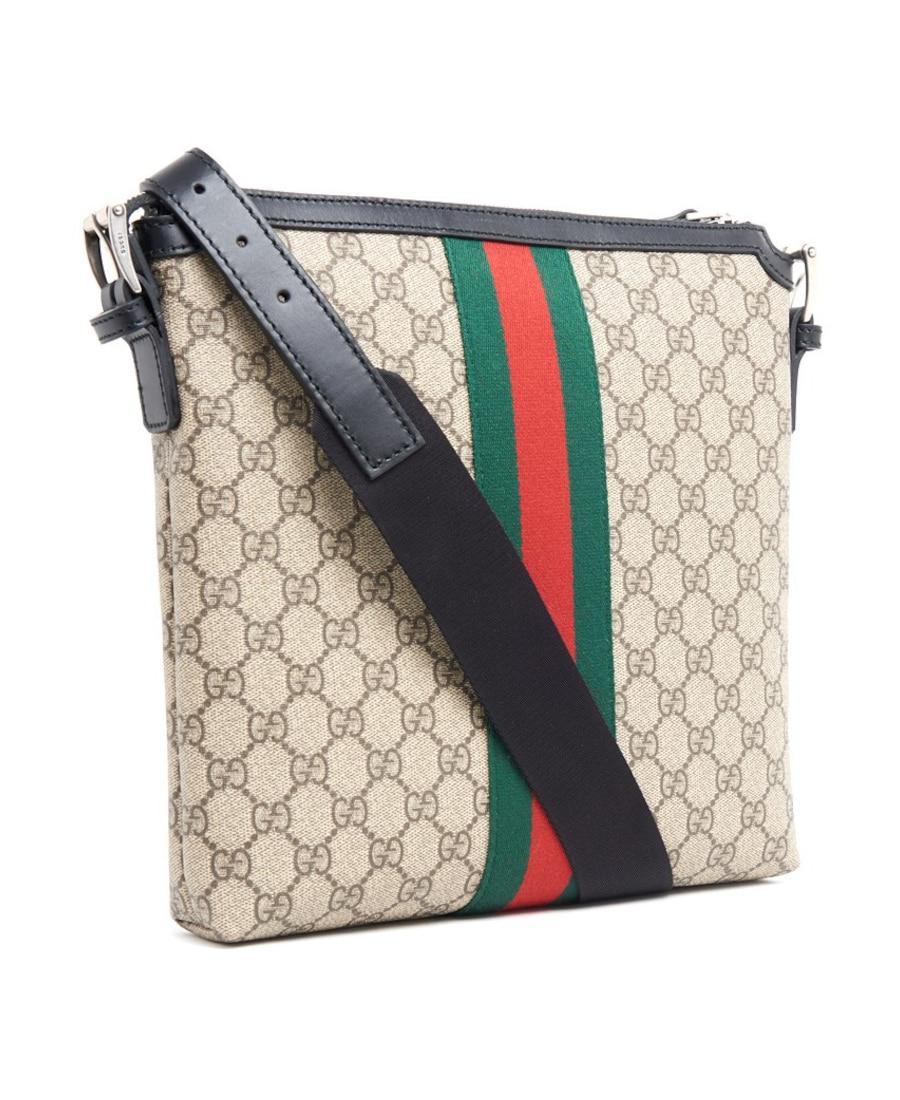 991363e3d51d Gucci 'Web Gg Supreme' Messenger Bag In Neutrals   ModeSens