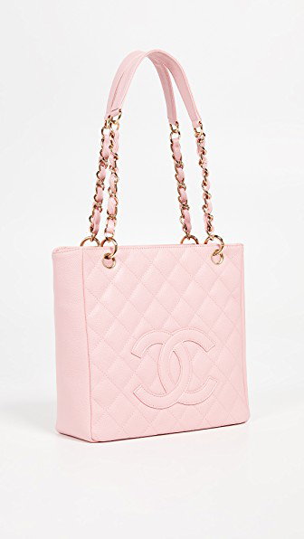 499345759139 What Goes Around Comes Around Chanel Caviar Tote In Pink | ModeSens
