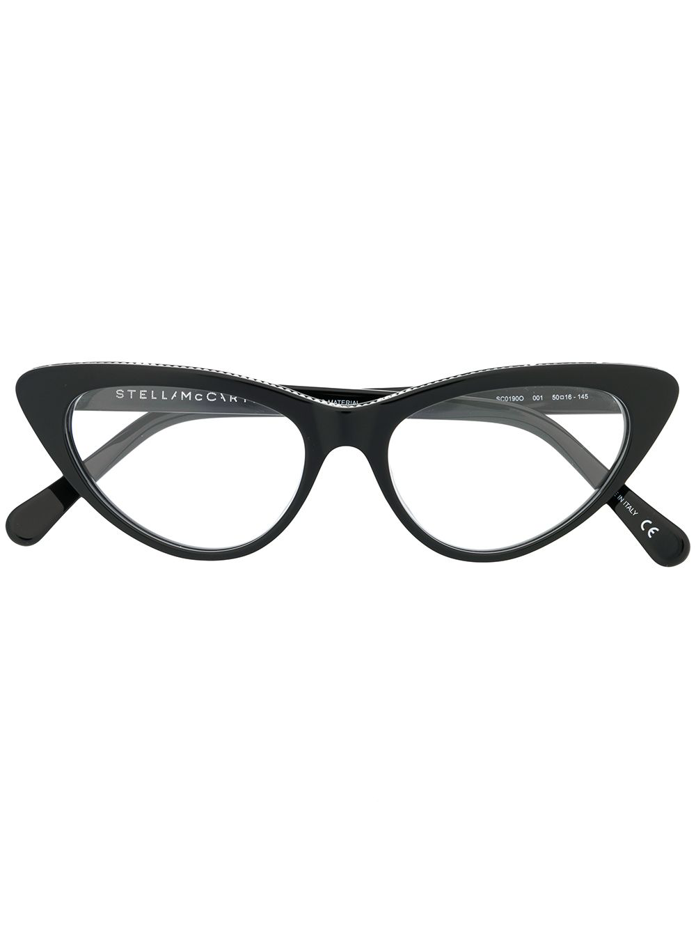 eac200d7e32f6 Stella Mccartney Eyewear Cat Eye Frame Glasses - Black