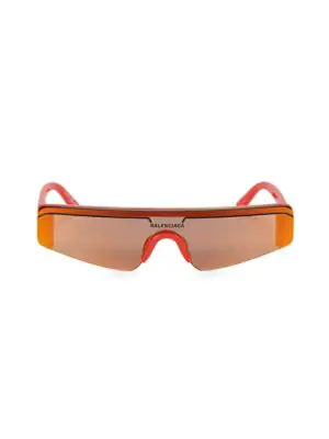 e3b0795985 Balenciaga Women s Rectangular Shield Sunglasses