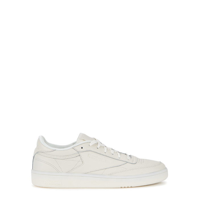 02502c547cc Reebok Club C 85 Off-White Leather Trainers