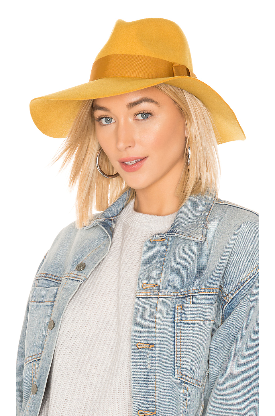 85f6282899d1a Brixton Piper Hat In Mustard. In Nugget Gold