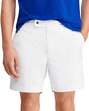 5de71415f6 Polo Ralph Lauren Monaco Swim Trunks In White | ModeSens