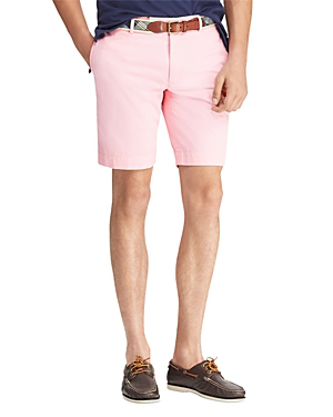Stretch Pink Shorts In Slim Chino Fit Nnwm08