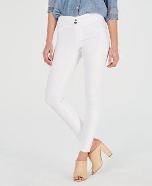 24535acc0cf74 Hue Women's Original Smoothing Denim Leggings, Created For Macy's In White