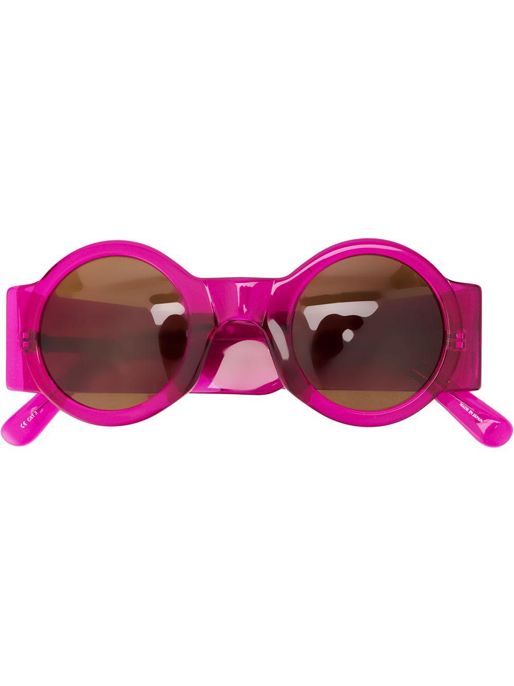 7e33db8c6387 Linda Farrow Dries Van Noten 98 C16 Sunglasses - Purple In 紫色 ...