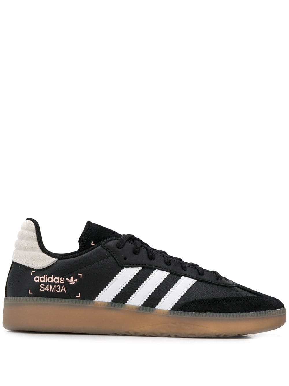 new arrival 521c8 7758d Adidas Originals Adidas  Samba Rm  Sneakers - Schwarz ...