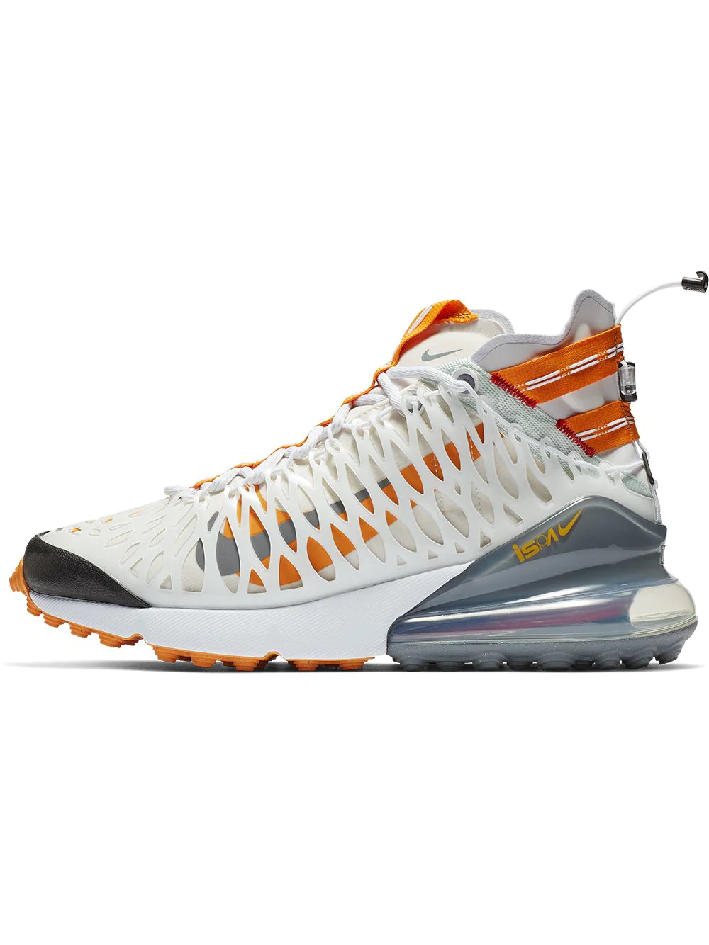 6aeb816118f4 Nike White Air Max 270 Ispa High Top Sneakers