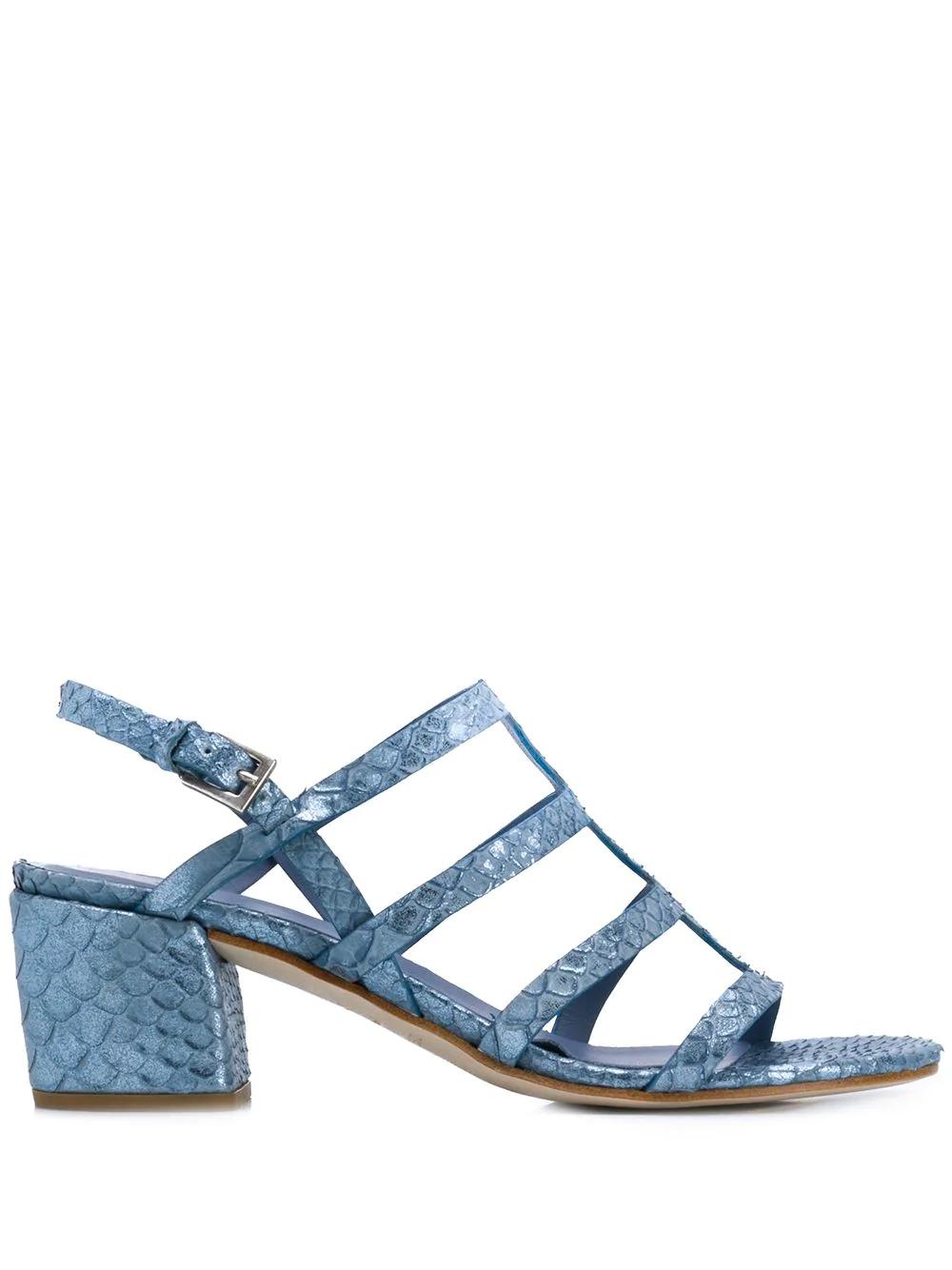 048d4c873 Del Carlo Strappy Sandals - Blue