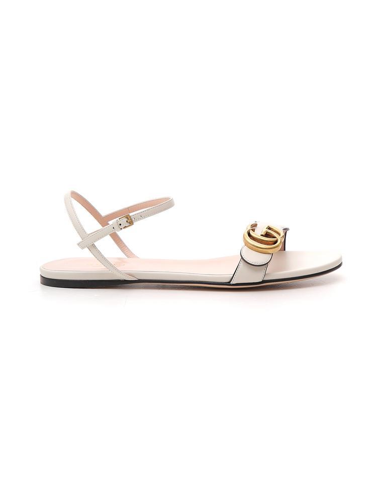 bb9ed02b4f8 Gucci Double G Sandals In Multi. CETTIRE