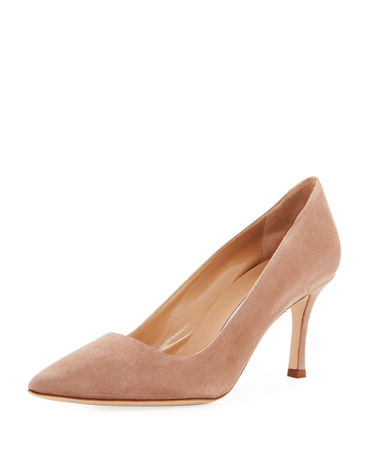 29400190fda Manolo Blahnik Bb Suede 70Mm Pumps