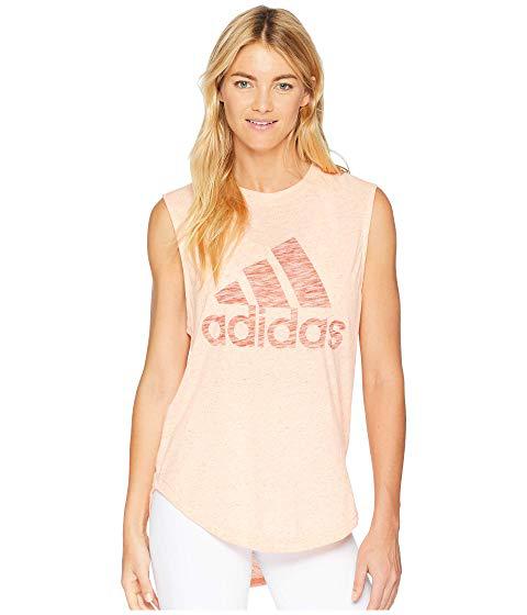 3d298d894eda7 Adidas Originals Adidas Winners Muscle Tank Top In Haze Coral Raw Amber