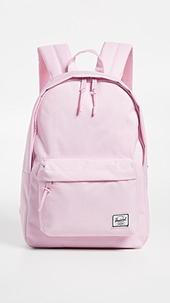 d8cf39067d4 Herschel Supply Co. Classic Mid Volume Backpack In Pink Lady Crosshatch