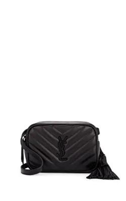 658ad7f26 Saint Laurent Lou Monogram Ysl Quilted Leather Belt Bag - Black Hardware,  Black
