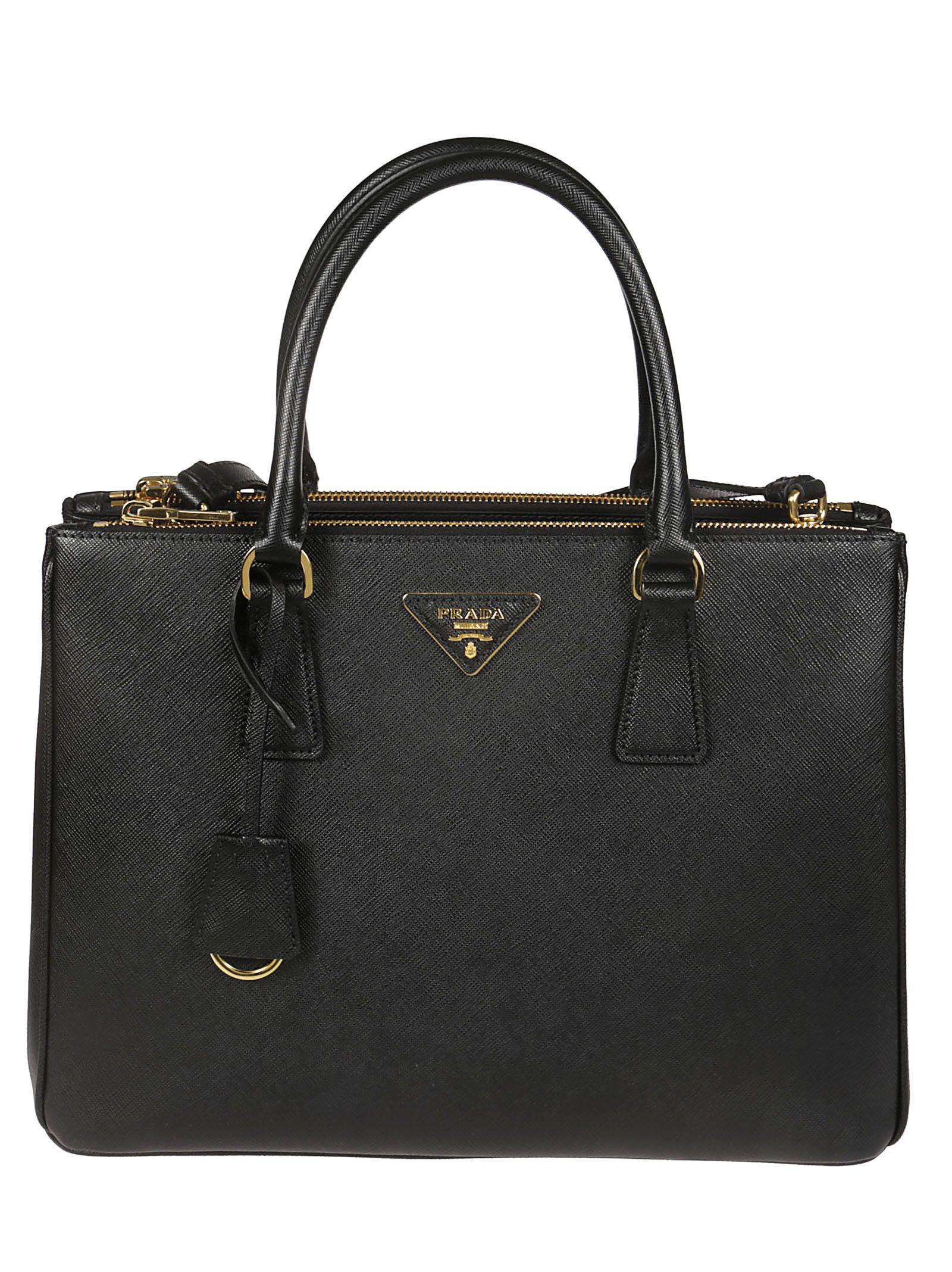 0b8fe6d69010 Prada Classic Boxy Tote In Black