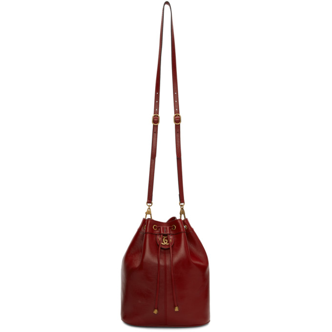 7b9dccc4becb Gucci Red Rebelle Bag In 6438 Red   ModeSens