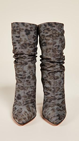 Iro Savanah Boots In Neutrals
