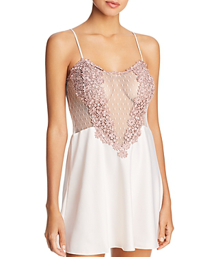 9bedce0d0b3 Flora Nikrooz Showstopper Charmeuse Chemise In Pink Cloud