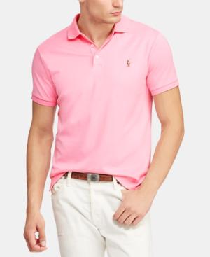 259dfed29 Polo Ralph Lauren Men s Custom Slim Fit Soft Touch Cotton Polo ...