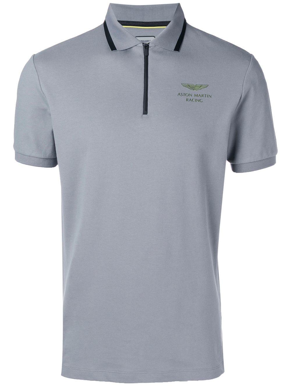 44cc5ea98d0 Hackett Aston Martin Polo Shirt - Grey