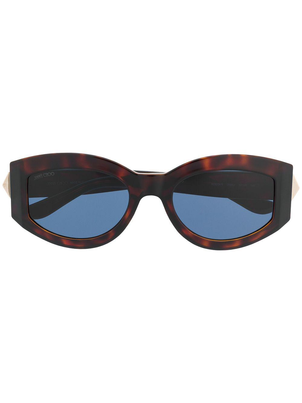 a776fd943d2 Jimmy Choo Eyewear Robyn Sunglasses - Brown
