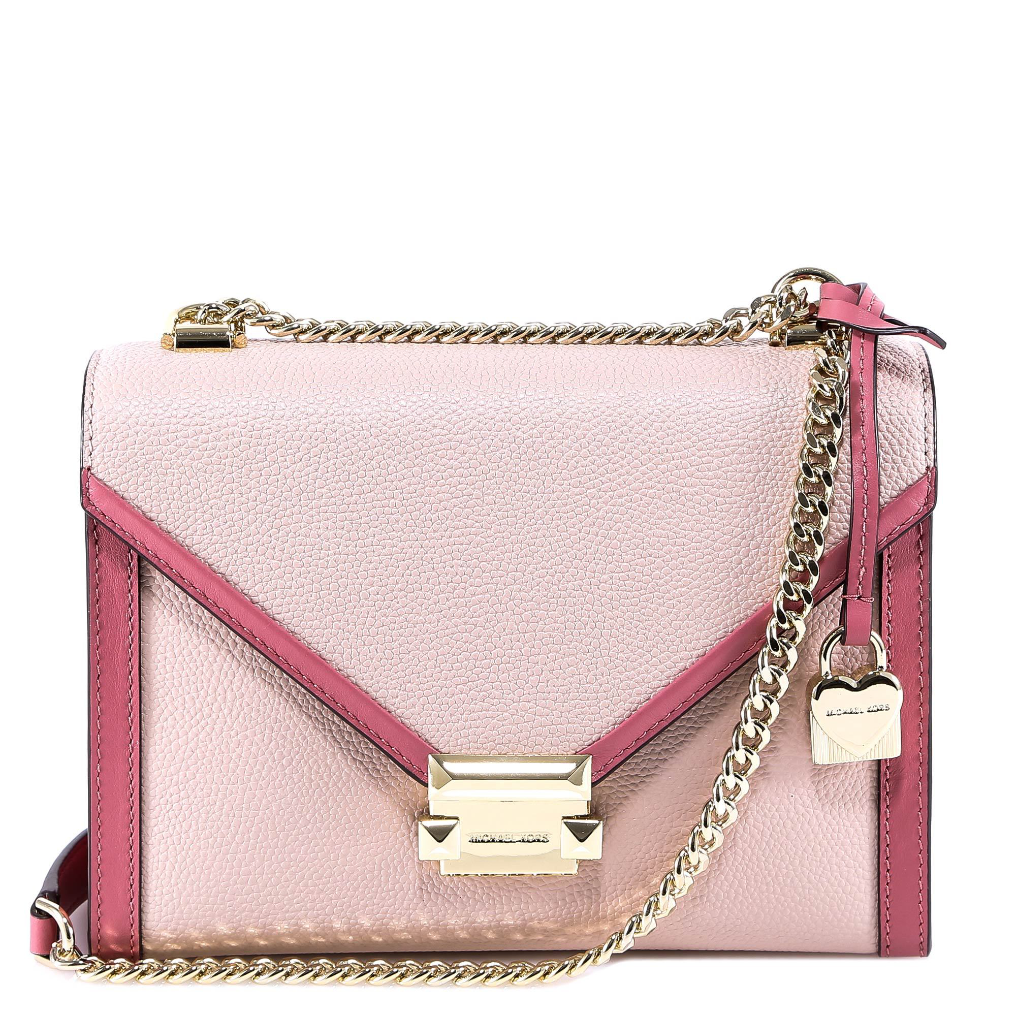 1199eaea5859b6 Michael Michael Kors Whitney Shoulder Bag In Pink   ModeSens
