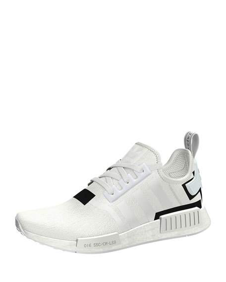 21506a4f5 Adidas Originals Adidas Men s Nmd R1 Casual Sneakers From Finish Line In Ftwr  White Ftwr
