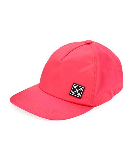 b576f9bb3095eb Off-White Stretch Logo Patch Baseball Cap In Pink | ModeSens