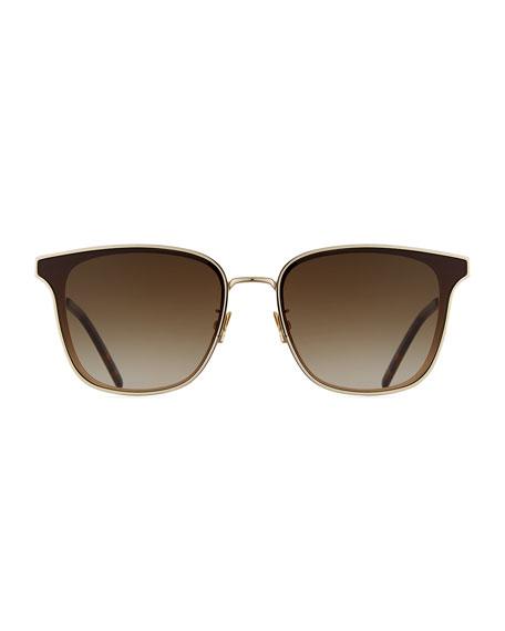 579edd8349 Saint Laurent Men S Sl272 Metal Sunglasses - Gradient In Gold