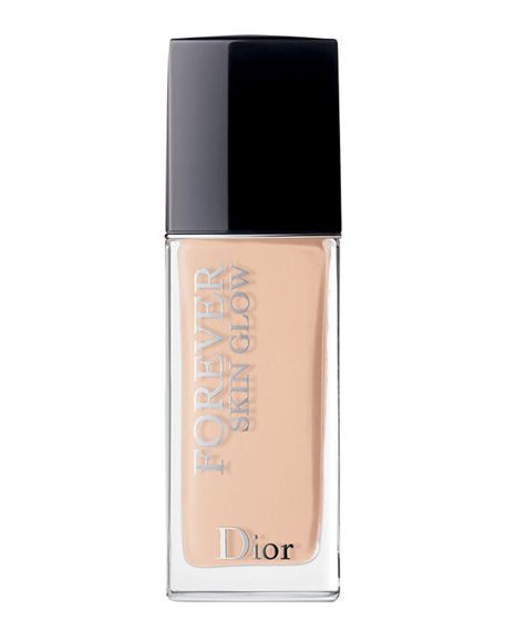 Dior Forever Skin Glow 24H* Wear Radiant Perfection Skin-Caring Foundation 1 Cool Rosy 1 Oz/ 30 Ml
