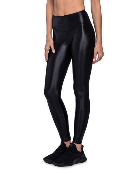 201be4d4a2294 Koral Ferocity High-Rise Full-Length Performance Leggings In Black ...