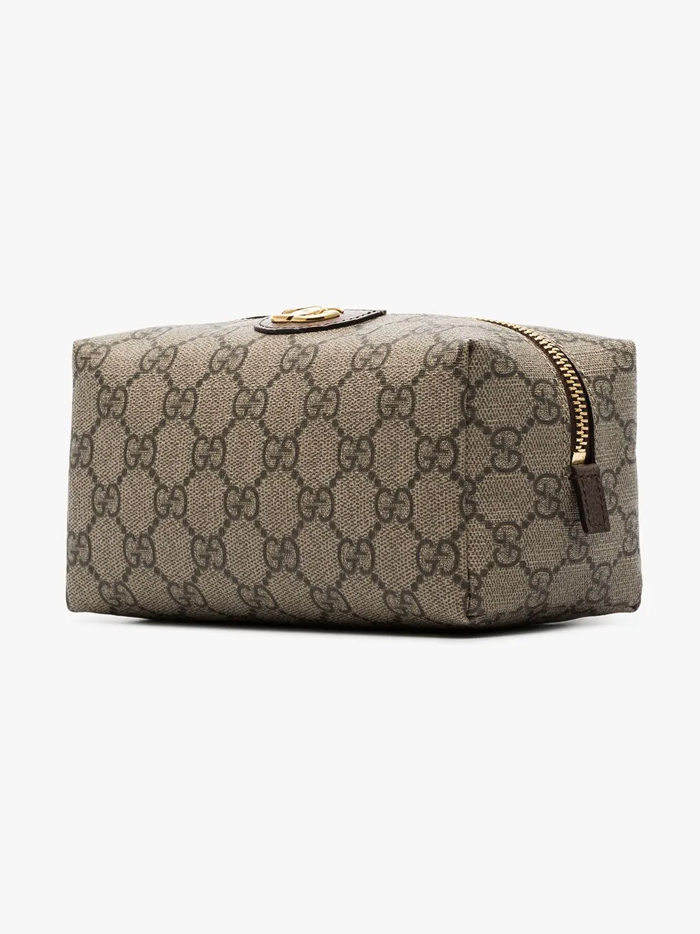 76f12919dbc Gucci Ophidia Medium Textured Leather-Trimmed Printed Coated-Canvas  Cosmetics Case In 8358 Gg
