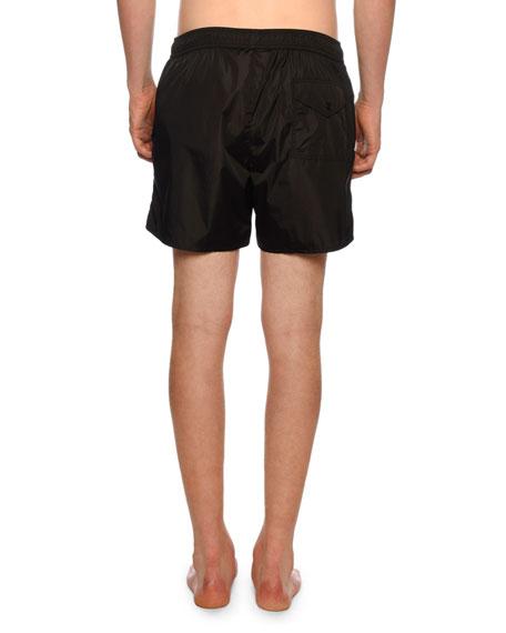 b615293df7 Moncler Men's Classic Drawstring Swim Trunks In Black | ModeSens