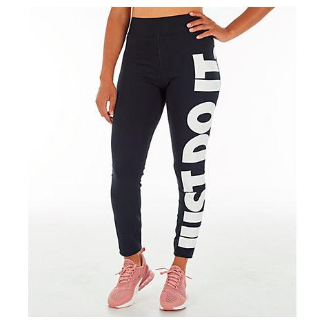 bf67b0f0dfec9d Nike Women's Sportswear Leg-A-See Jdi Leggings, Black | ModeSens