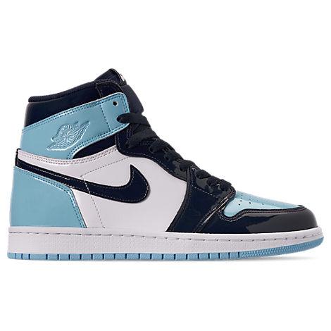 Women's Air Jordan Retro 1 High Og Casual Shoes, Blue
