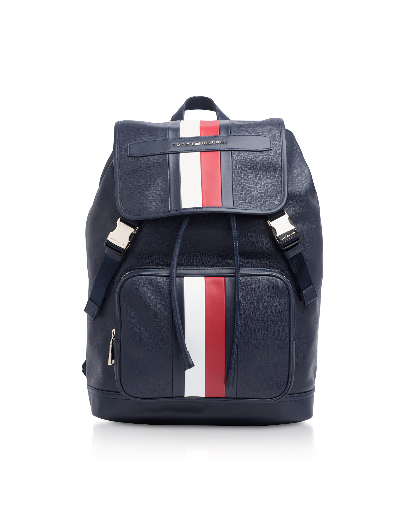 tommy backpack leather