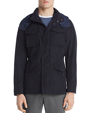 Dylan Gray Utility Field Jacket In Navy Modesens
